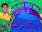 jeu de dora puzzle bridge