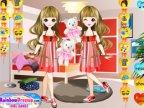 jeux d'habillage des jumelles pour une surprise party