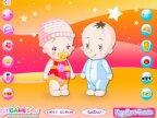 jeux d'habillage des jumeaux