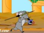 jeux de rats au javelot