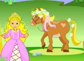 jeux d'habillage de poney
