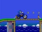 jeux de sonic sur la moto
