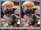 jeux de ratatouille,trouvez les differences