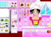 jeux de cuisine avec sandy