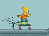 jeux de bart simpsons sur le skate