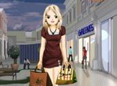 jeu d'une journée de shopping