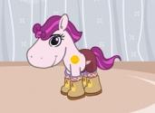 jeux de habillage de poney