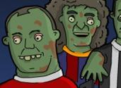 jeux des zombies des joueurs du monde