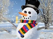 jeux homme de neige