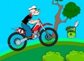Popeye sur la moto