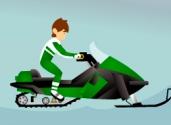 Ben 10 moto neige