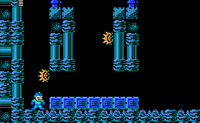 Jeu de Mega Man contre Metroid