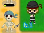 jeu de ninja contre les pirates