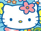 jeux de hello kitty et son courrier