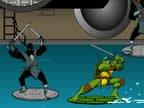 jeux affrontement de tortue ninja