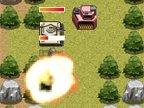 jeux de tactique de guerre avec un tank