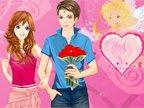 jeux  de la saint valentin le jour d'amour et de cadeaux