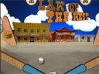 jeu de western pinball