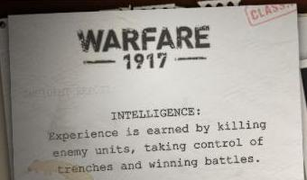 Jeu de warfare 1917
