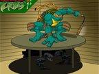 jeu de ninja mutant 2
