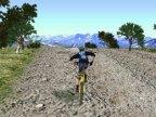 jeux de 3D de bicyclette en montagne