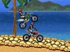 jeux de motocross dans une competition