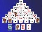 jeux de solitaire en pyramide