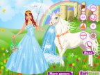 jeux d'habillage de la princesse sissi et son cheval magique