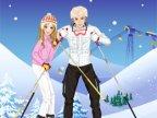 jeux d'habillage de sarah au ski
