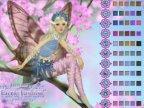 jeu de coloriage de la fée du printemps