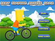 jeux de bicyclette bart simpson