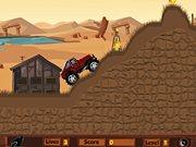 tout terrain dans le Desert