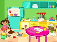 Jeux de dora l 39 exploratrice gratuits - Jeux de nettoyage de chambre ...