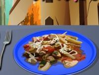 cuisine de poulet à l'italien