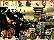 objet cachés Kung Fu Panda
