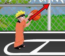 jeux basket de naruto