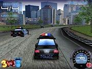 course de voiture de police