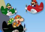 Mario dans l avion