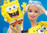 Barbie et  Bob Eponge