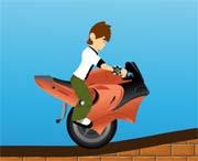 jeu de scooter de ben 10