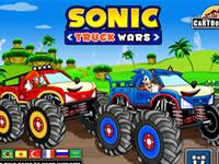 course de camion de sonic