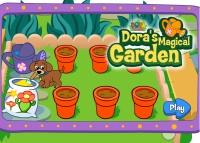 jeu de dora jardin magique