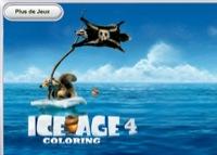 coloriage de l'age de glace 4