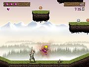jeu action avec un viking