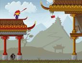 jeune ninja et les obstracles