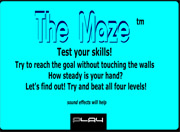 jeu de peur labyrinthe