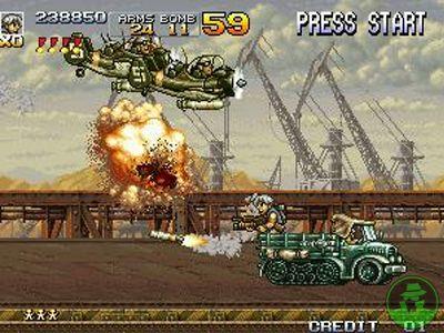 jeu de metal slug 4 dans cette version de la série metal slug vous