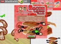 sandwich au Bacon, Laitue, Tomate