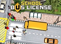 jeux de Permis de conduire de bus scolaire