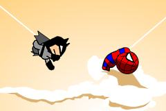 Jeu de Spiderman et  Batman